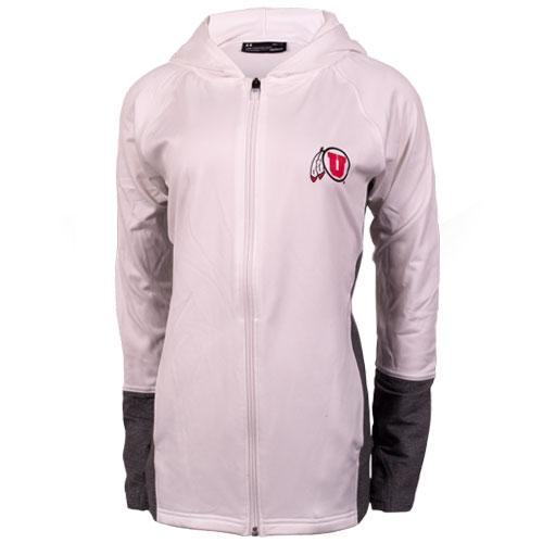 Under Armour Women Athletic logo Hooded Jacket