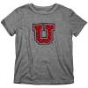 Blue 84 Utes Proud Block U Youth T-Shirt