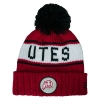 NewEra Utes Throwback Athletic Logo Beanie
