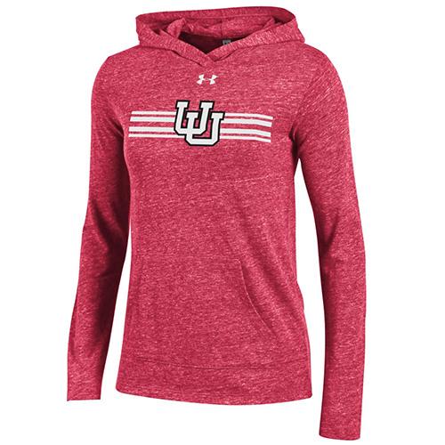 Women's Under Armour Interlocking U Loose Hooded Sweatshirt
