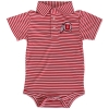 Grab Red Stripped Athletic logo Infant dress