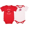 Utah Utes Infant Girl Athletic Logo 2-Pack Onesies