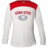 Utah Utes Girls Youth Football T-Shirt