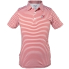 Athletic Logo Youth Striped Polo Shirt