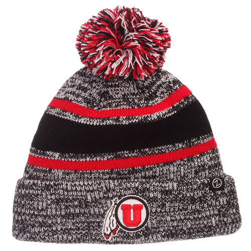 Zephyr Youth Athletic Logo Heather Knitted Beanie