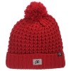 Zephyr Athletic Logo Red Cozy Knitted Beanie