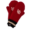 Brand 47 Interlocking U Striped Cuff Women's Mittens