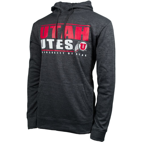 Colosseum Utah Utes Athletic Logo Hooded Sweatshirt