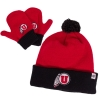 Athletic Logo Toddler Beanie and Mittens Set