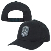 Zephyr Athletic Logo Black Military Patch Hat