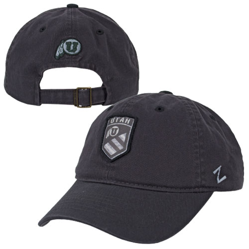Zephyr Athletic Logo Grey Military Patch Hat