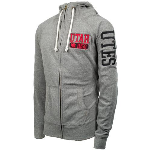 Interlocking U 1850 Full Zip Hooded Sweatshirt