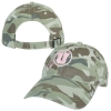 Pink Athletic Logo Camo Women's Adjustable Hat