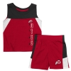 Utah Red Zone Infant Tank and Short Set