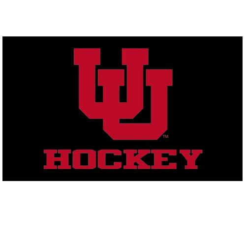 Utah Hockey Interlocking U Black Flag