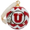 Striped Athletic Logo Ornament