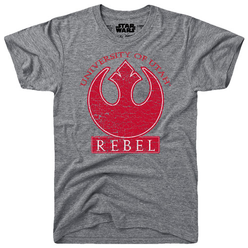 University of Utah Star Wars Rebel T-Shirt