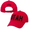 Top of the World Red Utah Adjustable Hat