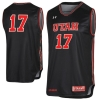 Under Armour 2017 Black Basketball Jersey