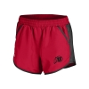 Under Armour Women's Athletic Logo Red Running Shorts