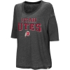Distressed Utah Utes Athletic Logo Loose Fit Women's T-shirt