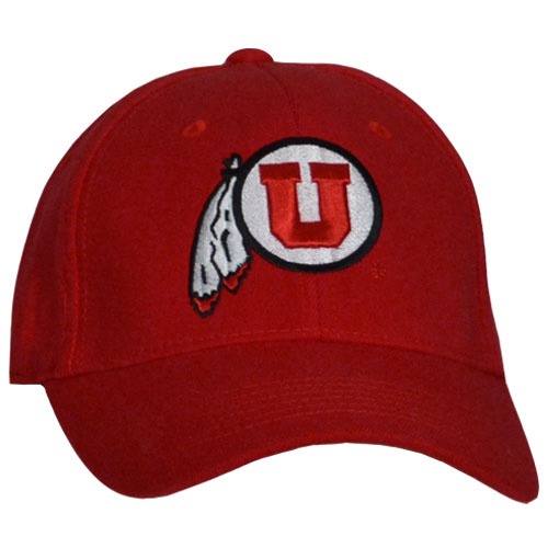 Cover Image For Utah Utes Basic Athletic Logo Hat