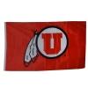 Cover Image for University of Utah Black and Red Block U Flag