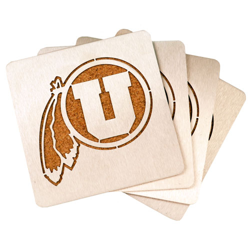 Cover Image For Athletic Logo Coasters