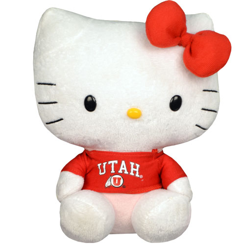 Image For Utah Athletic Logo 12 Inch Hello Kitty