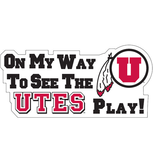 Logo Products Utah Utes Small Stickers Set University Seal 48 Stickers