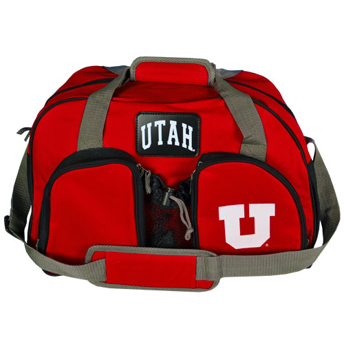 Cover Image For Utah Utes Block U Weekender Duffle Bag