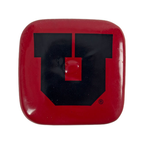 Image For Block U Red Tail Cap Hitch Cover