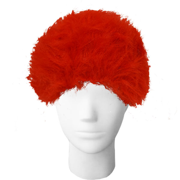 Image For University of Utah Red Game Wig