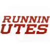 Image for Utah Basketball Runnin' Utes Decal