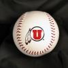 Image for University of Utah Athletic Logo Autograph Baseball