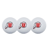 Image for Team Effort Utah Athletic Logo Golf Ball 3 Pack