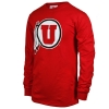 Image for Utah Utes Athletic Logo Champion Long Sleeve Tee