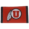 Image for Utah Utes Athletic Logo Nylon Wallet