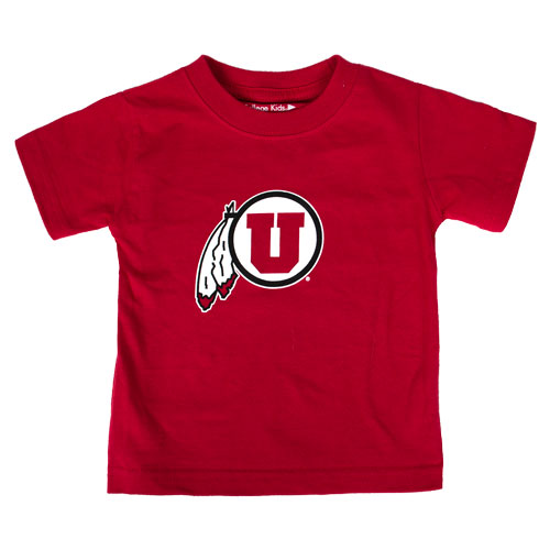 Cover Image For Utah Utes Toddler Athletic Logo T-shirt