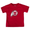 Cover Image for Utah Utes Athletic Logo Toddler Heather Hoodie