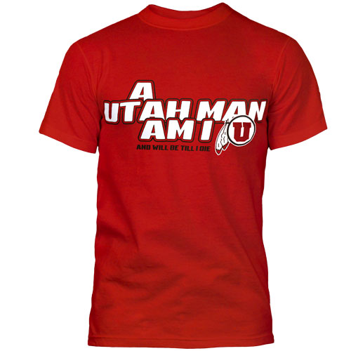 Image For F212 Utah Utes Man Tee