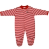 Image for Striped Athletic Logo Infant Onesie Sleeper