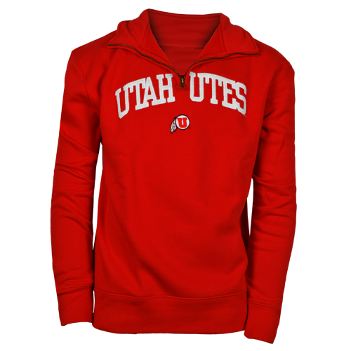 Image For Utah Utes Champion Quarter Zip Sweatshirt