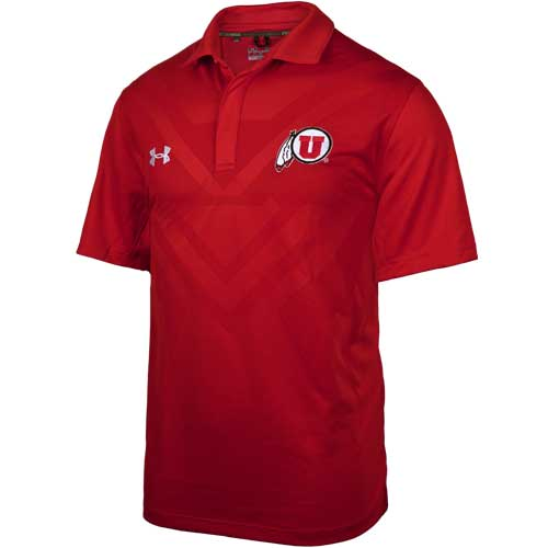 Cover Image For Utah Utes 2015 Under Armour Coaches Polo