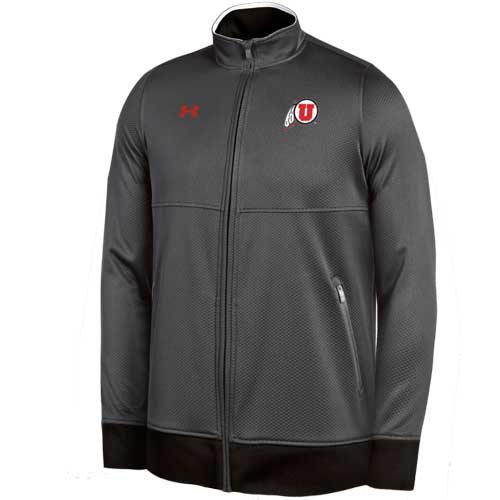 Cover Image For Under Armour Utah Utes Athletic Logo Full Zip Jacket