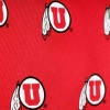 Cover Image for Utah Utes Repeating Athletic Logo Pattern Tie