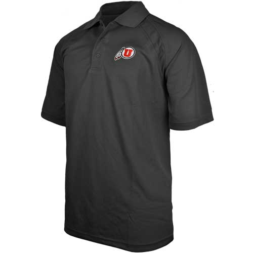 Cover Image For University of Utah Athletic Logo Polo
