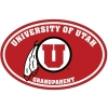 Image for University of Utah Grandparent Decal
