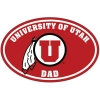 Image for University of Utah Dad Decal