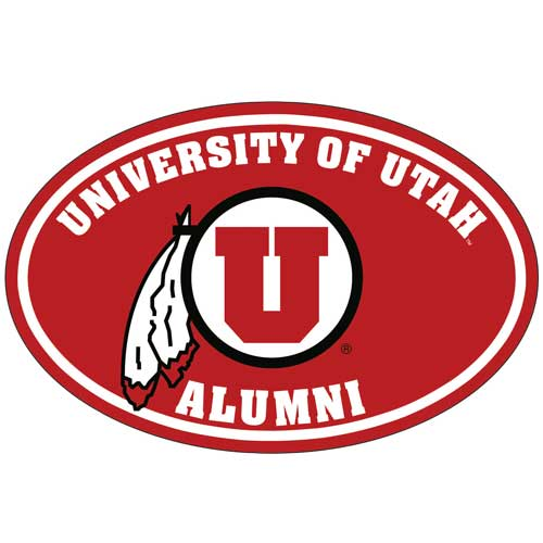 Image For University of Utah Alumni Decal